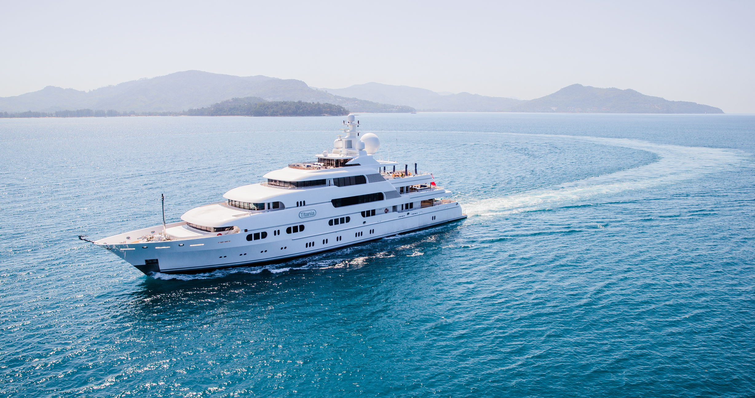 Motor Yacht Titania - For Charter